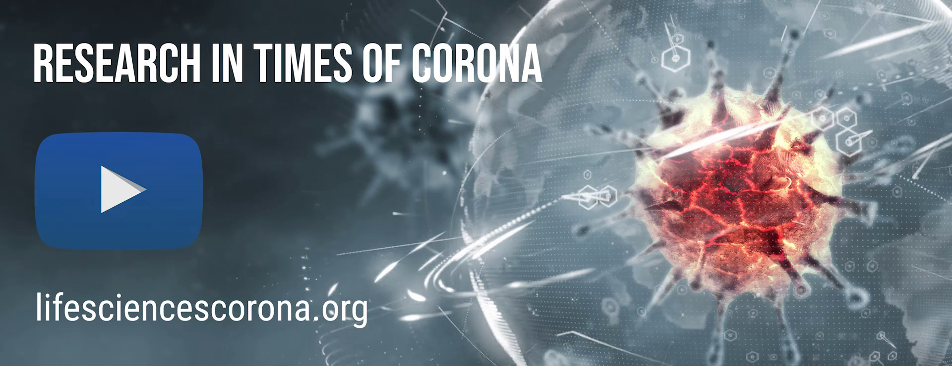 Illustration: Corona Landing Page des IRI Life Sciences
